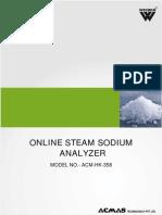 Online Steam Sodium Analyzer