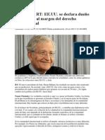 Chomsky dueños del mundo