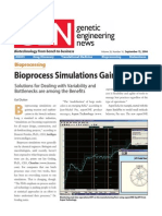 Article Bioprocess Simulation Gain Traction Sept 2006