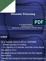 Oleander Poisoning