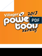 Villager Power Tools Katalog 2013 Web