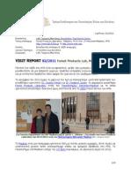 Visit Report FPL Madison 2011