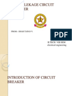 Introduction of Circuit Breaker