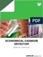Economical Cadmium Detector