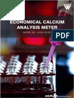 Economical Calcium Analysis Meter