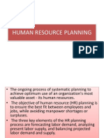 Human Resource Planning