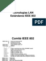 D. Tecnologias-LAN IEEE 802