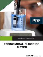 Economical Fluoride Meter