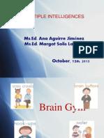 Multiple Intelligences 12-10-13