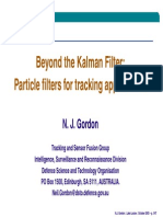 Beyond the Kalman FilterParticle Filters for Tracking Applications