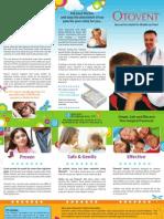 Otovent Patient Brochure