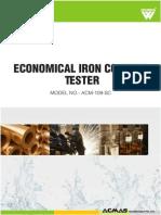 Economical Iron Content Tester