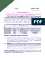 IMD notice on cyclone Phailin