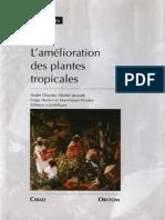 L'amélioration des plantes tropicales, A. Charrier (1997)