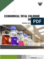 Economical Total Chlorine Detector