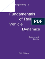 Fundamentals of Rail Vehicle Dynamics