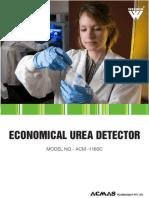 Economical Urea Detector