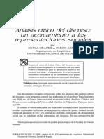 Pardo, Neyla - Analisi Critico Del Discurso Un Acercamiento a Las Representaciones Sociales - Ok