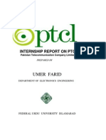 Internship Report on Ptcl