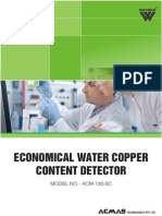Economical Water Copper Content Detector