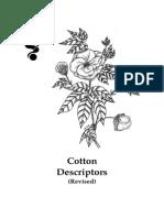 Cotton Descriptors