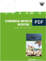 Economical Water Sulphate Detector