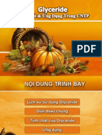 Chuyen de-glycerides Cho Thuc Pham