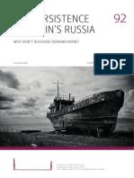 persistence of Putin's Russia