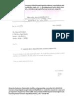 Himanshu Gupta, Abhinav Parshad and Bajaj Allianz Insurance Company Limited breach trust missolding policies