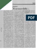 "Ot Nemzedek""Five Generations"" in Hungarian"
