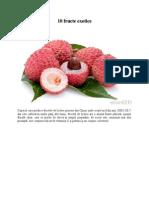 10 fructe exotice