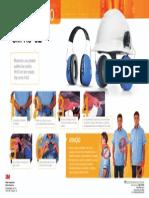 Proteção Auditiva - Higienização Abafador H9A_02
