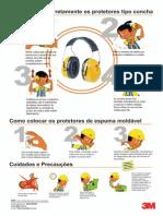 Proteção Auditiva - Uso e Manutenção - Protetores Auditivo -