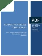 Guideline Stroke 2011