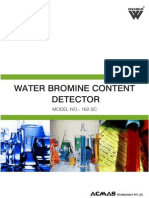 Water Bromine Content Detector