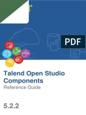 TalendOpenStudio Components RG 5 2 2 En