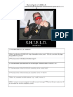 Marvels Agents of S.H.I.E.L.D. Worksheet