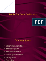11-Tools for Data Collection