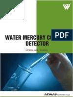 Water Mercury Content Detector