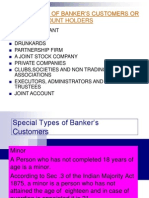 Special Types of Banker's Customers