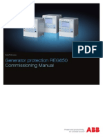 1mrk502035-Uen - En Commissioning Manual Generator Protection Reg650 Iec