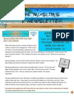 Cape Muslims E-Newsletter Vol 1 No 1 (1)