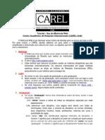 Tutorial Matricula Web (CAREL)