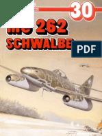 (Monografie Lotnicze No.30) Me 262 Schwalbe, Cz.1