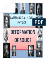 Chapter 10 Deformation of Solids