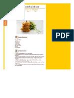 Receitas - Pataniscas de Bacalhau