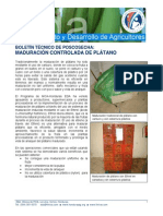 EDA BT Poscosecha Platano Maduracion 02 08 2
