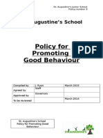 St. Augustine's School - Behaviour Policy