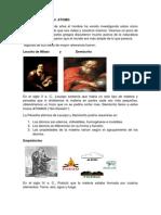 Reseña  Histórica del  ATOMO