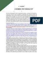 Marx Tesis Sobre Feuerbach